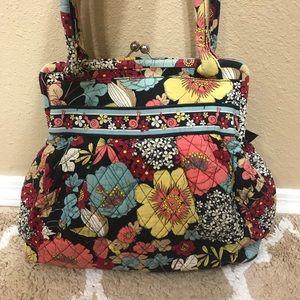Vera Bradley Multi Colored Purse Large Bag